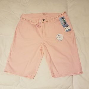 Riders by Lee mid rise Bermuda shorts